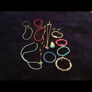 Lot of kids jewelry (minion not included)